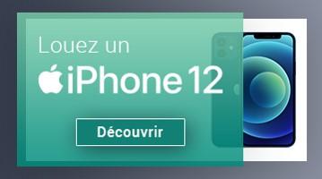Louez un iPhone pour votre entreprise