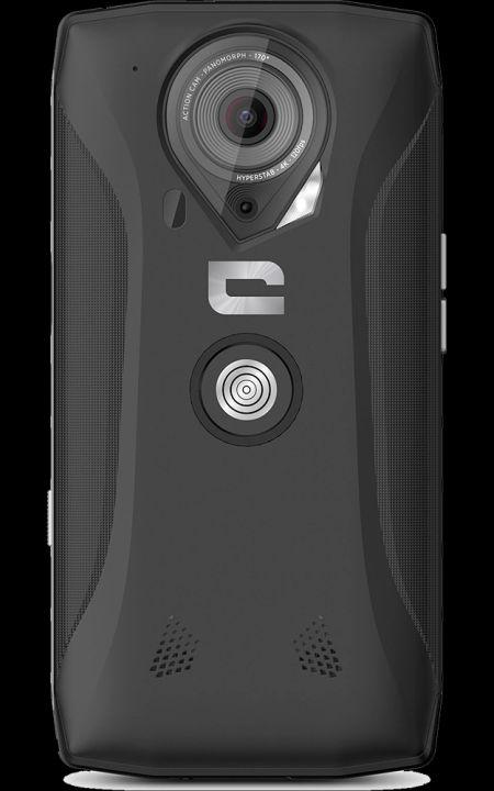 Crosscall Trekker-X4 Noir dos zoom